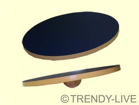 Therapiekreisel Sportkreisel Reha Balance Board Holz ⌀ 39 cm