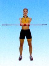 BASIT® Pilates Blade Aerobic Schwungstab Fitness Schwing Stab