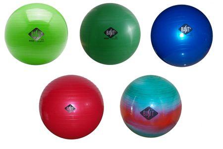 BASIT Gymnastikball Sitzball Fitness Ball Bürostuhl dm 45 cm in bunt rot blau hellgrün grün wählbar