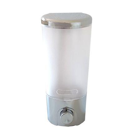 Seifenspender Duschgel Flüssigseife Desinfektion Wandmontage 300 ml chrom 9117C
