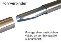 BASIT Gardinenstangen Rohrverbinder für 16mm 19mm oder 20mm Gardinenstangenrohr