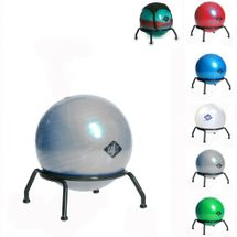 BASIT Easy Gesundheits Büro Sitzballstuhl Gymnastikball Kinder mit Gleiter