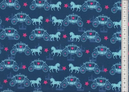 Jersey Odin mit Pferden, Kutschen und Reitzeug lila  von Swafing