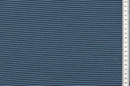Jersey gestreift jeans und navy – Bild 1