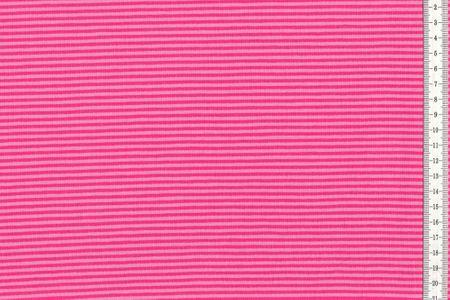 Jersey gestreift fuchsia und pink – Bild 1