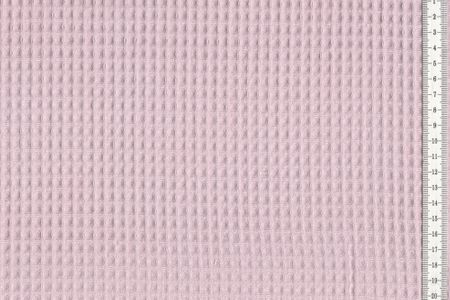 Waffelpique Waffelstoff altrosa 100% Baumwolle – Bild 1