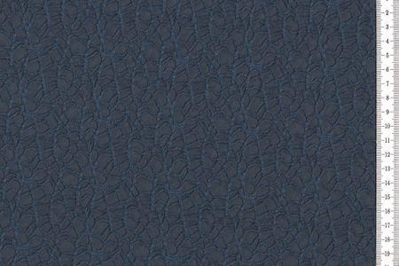 Polymash mit Spitze aus Polyester blau navy – Bild 2