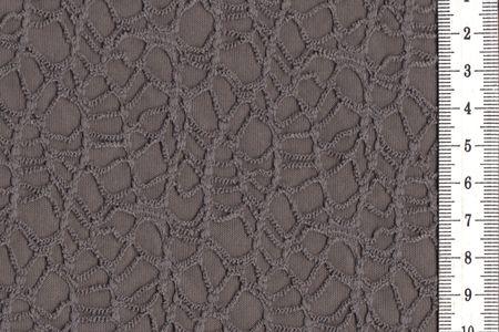 Polymash mit Spitze aus Polyester taupe – Bild 1