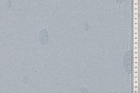 Destroyed Jersey Stoff mit Punkten in hellgrau, hellrosa, beige oder hellblau wählbar Used look – Bild 2