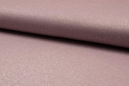 glänzender Sparkling Jersey in taupe, altrosa, silber grau, mint, jeans, dunkelgrau oder grau – Bild 3