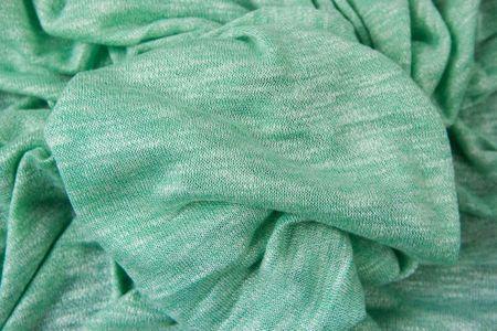 schöner Strickstoff Lieschen mint, rauchblau, rosa, grau mit weiss meliert von Swafing – Bild 2