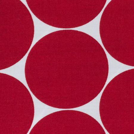 """Baumwolle Webware """"Doro"""" Punkte in grau, blau, mint, apricot, hellgrün, rot oder erika  von Swafing – Bild 8"""