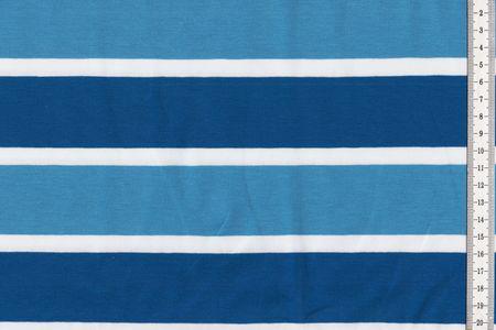 """Baumwolljersey blau weiß gestreift """"Lou"""" von Swafing"""
