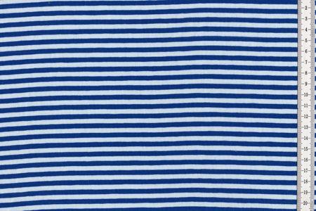 Baumwolljersey gestreift blau, rot, bordeaux, mint, grün, grau, schwarz, senf und petrol – Bild 3