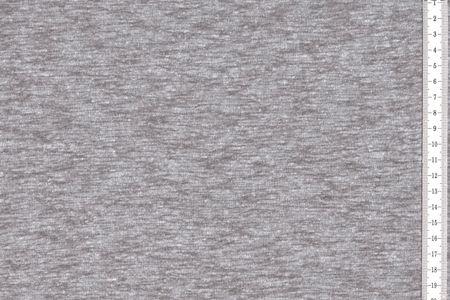 Slubjersey Stoff mit Struktur in hellgrau, schlamm, altrosa, mint, blau oder grau meliert – Bild 2