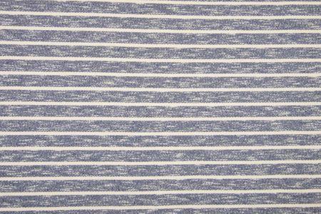 Heavy French terry Brushed Dyed uni oder gestreift in den Farben jeans, altrosa oder mint, angeraut – Bild 7