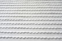 Jersey Rüschenstoff weiß 001