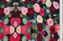 """Viskose Blumen bunt """"Radiance"""" 001"""