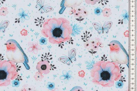 Softshell Birds Vögel in rosa, mit oder hellblau – Bild 2