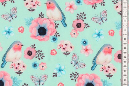 Softshell Birds Vögel in rosa, mit oder hellblau – Bild 3