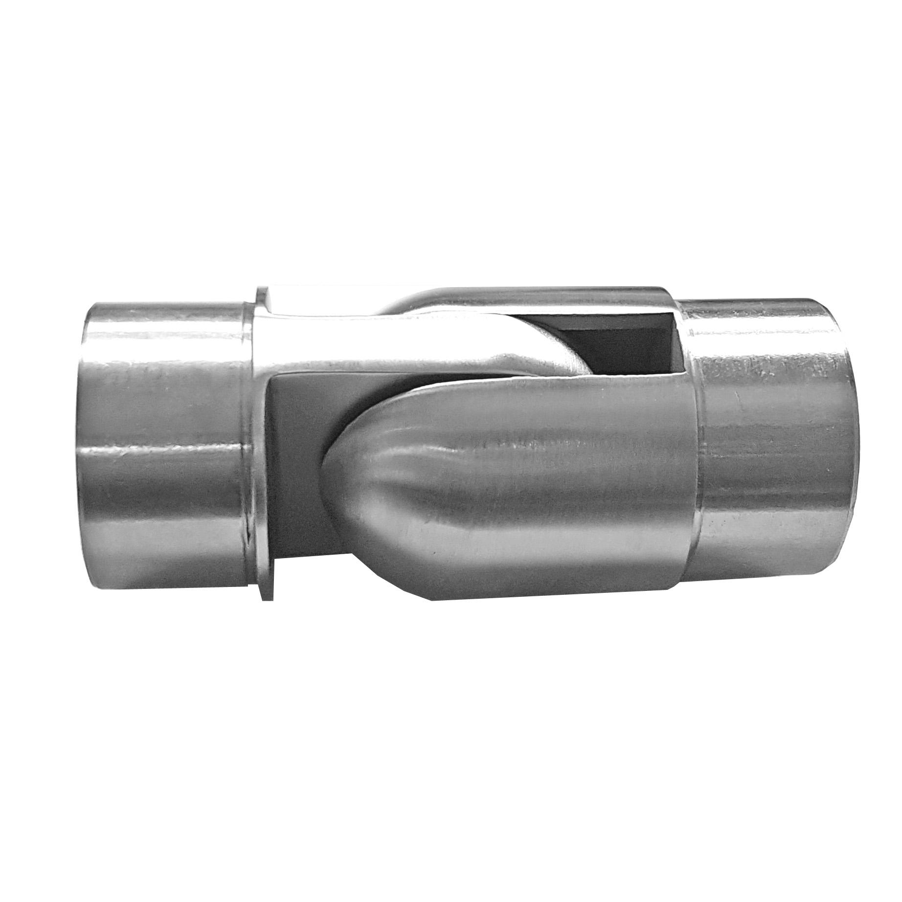 Edelstahl 42,4 Rohr WINKEL WAND-HALTER Geländer Fitting