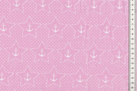 Jersey mit Ankern und Sternen auf marine, rosa, rot oder mint von BIPP Design® – Bild 2