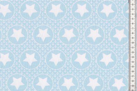 Jersey mit Kreisen, Ankern und Sternen auf hellgrau, hellrosa oder hellblau von BIPP Design® – Bild 4