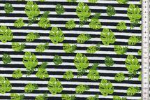 Jersey mit Blättern und Streifen von Fräulein von Julie 001