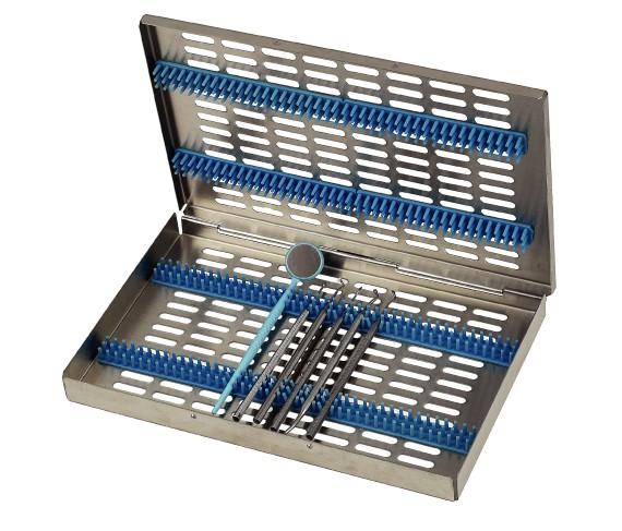 Waschtray - Steribox - Cassette 280 x 25 x 190 mm