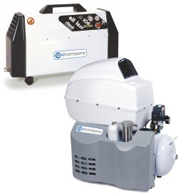 Ölfreier Dentalkompressor mit Lufttrocknung 100DS