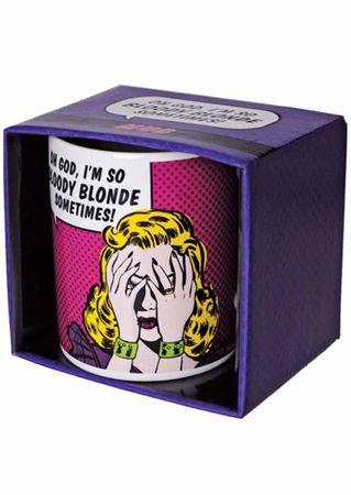 witzige So Bloody Blonde Tasse