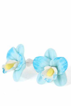 ORCHIDEEN Blüten Ohrstecker – Bild 2
