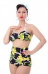 HAWAII Blüten LANAI 50er retro Pin Up Rockabilly Hibiskus Bikini – Bild 4