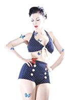 Pin Up retro Polka Dots Bikini v. SugarShock