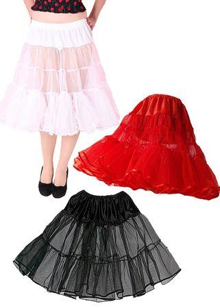 50er retro vintage style Rockabilly Petticoat Unterrock Tellerrock v. SugarShock