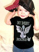 MY DADDY ROCKS Kids T-Shirt