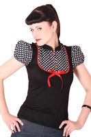 JUDIE Pin Up retro Polka Dots T-Shirt v. SugarShock