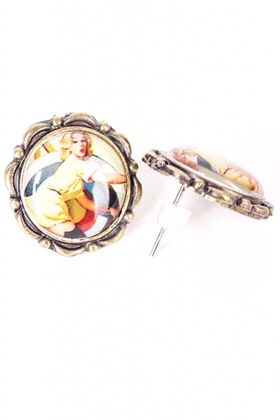 Sailor Pin Up Amulette Ohrstecker