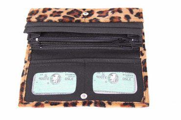 Leopardenfell Geldbörse – Bild 2