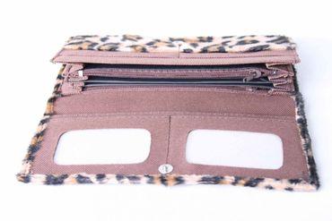 Leopardenfell Geldbörse – Bild 3