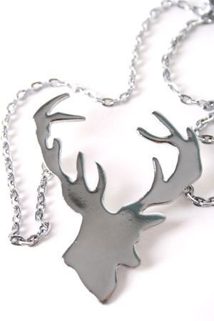 Hirschgeweih Halskette – Bild 3