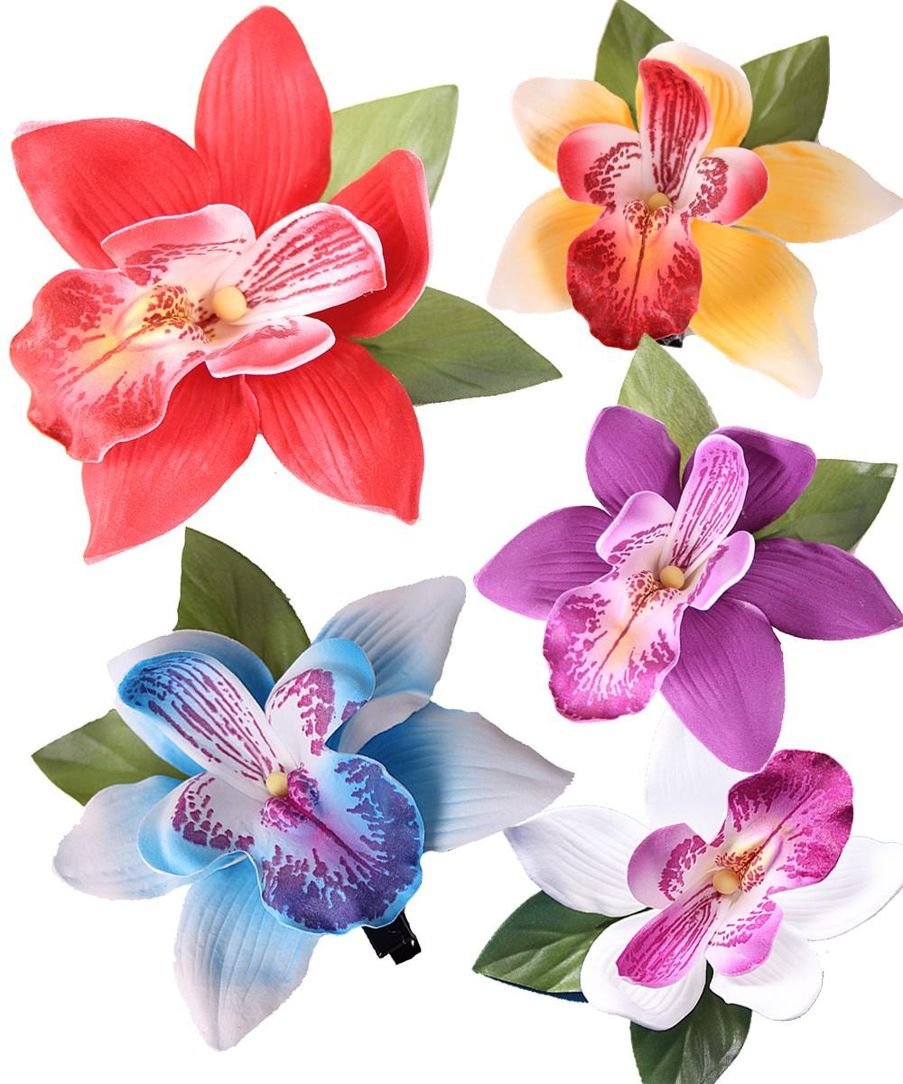 Orchideen pin up moosgummi haarblte haarclip accessoires orchideen pin up moosgummi haarblte haarclip altavistaventures Images