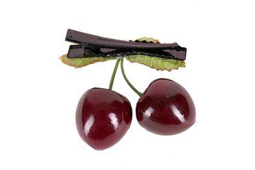 Cherry Kirschen Clip-Haarspange – Bild 2