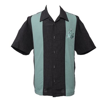 The Mickey Button up Tiki Panel Hemd v. Rock Steady Clothing