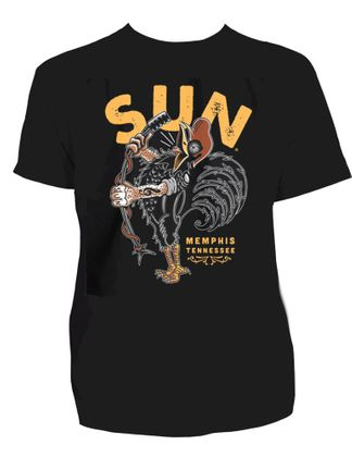 Sun Records Singing Rooster T-Shirt