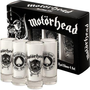 Motörhead Schnapsgläser Set Shot Glasses Set