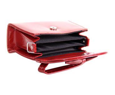 60s retro vintage style Schleifen Lack Koffer-Handtasche v. SugarShock – Bild 19