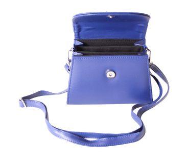60s retro vintage style Schleifen Lack Koffer-Handtasche v. SugarShock – Bild 3