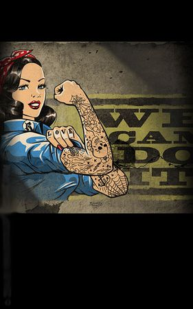 We can do it Pin Up Poster v. Rumble59