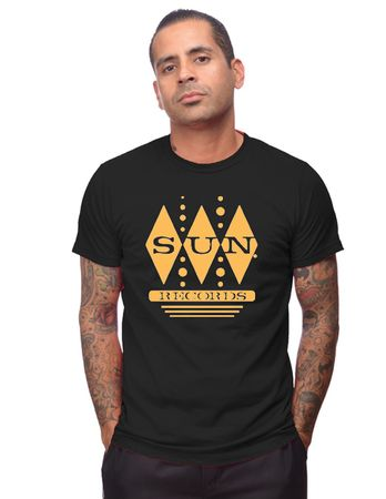 Diamonds Sun Records Männer Logo retro T-Shirt  – Bild 1